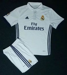 2016/17 Real madrid Home Soccer Uniform