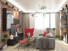 Интерьер маленький квартиры