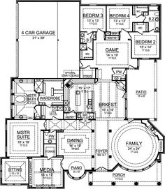 Great floorplan - very different. Lots of shared space - but good private spades too!!!!