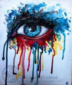 Splash Eye by DeliriouStudios.deviantart.com on @deviantART