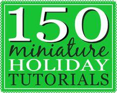 true2scale: Tutorials | Dollhouse Miniatures | Printables, Tutorials, Inspiration