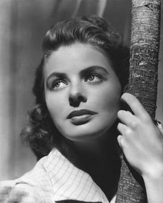 Ingrid Bergman's nose. Makes those of us with Non-Megan Foxized noses feel better.