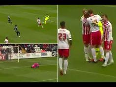 Stevenage goalkeeper Jesse Joronen scores against Wycombe in League Two clash - #news