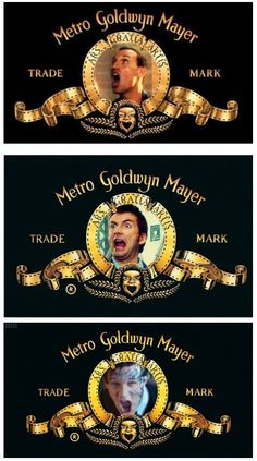 ROAR! The Doctor (9, 10, and 11) in the MGM logo