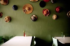 Quirky hat storage idea (Royale Eatery in Cape Town) Hat Storage, Cape Town, Stuff To Do, Relax, Burgers, South Africa, Restaurants, Vegetarian, Inspiration