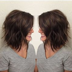 33 neue geschichtete Bob Frisuren 2018 33 New Layered Bob Hairstyles 2018 Related posts: Bob Hairstyles Layered Shoulder-length Haircuts … hairstyles 65 Refreshing Long Bob Hairstyles for – Bob Hairstyles Bob Hairstyles 2018, Layered Bob Hairstyles, Cool Hairstyles, Short Brunette Hairstyles, Shoulder Length Layered Hairstyles, Short Brunette Hair Cuts, Choppy Bob Hairstyles Messy Lob, Hairstyles For Long Faces, Elegant Hairstyles