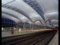 Philippe Samyn and Partners · NMBS TRAIN STATION CANOPY. LEUVEN #architecture #trainstation #transport #Leuven #Belgium