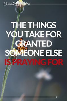 We usually don't know what we have until we lose it... #successquotes #takeforgranted #praying #motivation