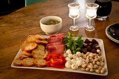 Hosting: Food Presentation Idea
