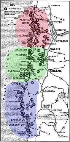 --Oregon Coast - hikes