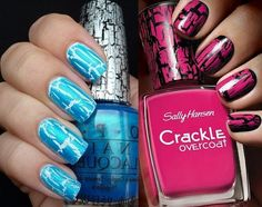 Nail Polish Trend & Crackle Nail Polish - Beauty tips and tricks with Care n style Nail Care Tips, Nail Tips, Nail Ridges, Cracked Nails, Strong Nails, Nail Polish Trends, Top Nail, Professional Nails, Nail Decorations