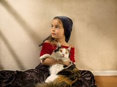 Photographer Shoots Marvelous Photos of His Daughter in the Style of Classic Paintings