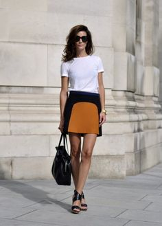 O Estilo da Hedvig Opshaug - Gabi May Street Chic, Street Style, Street Fashion, Jupe Short, Jessica Parker, Look Formal, Celebrity Outfits, Facon, Well Dressed