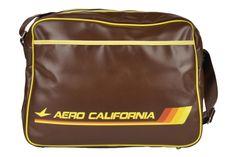 Logoshirt Aero California - Torby męskie Brązowy - Sarenza.pl (33373)