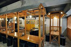wikitree   포장마차창업 호프체인점 '구노포차' Ramen Restaurant, Restaurant Design, Korean Grill, Onigirazu, New View, Commercial Interiors, Traditional, Interior Design, Furniture