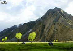 Mountains of Chitral.