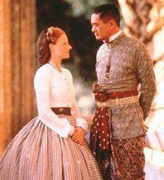 """Jodie Foster e Chow Yun-Fat em ANNA E O REI (Anna and the King), 1-""""Quando uma mulher que tem muito para falar não diz nada, o silêncio é esclarecedor."""""""