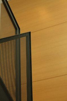 Návrh interiéru, detail zábradlia z ťahokovu - rodinný dom v Starom Meste, Bratislava - Interiérový dizajn / Interior detail by Archilab Bratislava