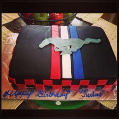 cake more mustang cakes 40th birthday 16th birthday cake ideas cake ...