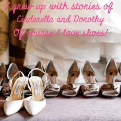 Shoes! I agree...