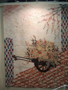 BRODERIE PERSE ART QUILT.........PC