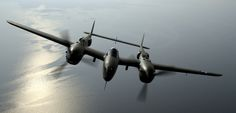 P-38 Lightning!  LOVE this plane :D