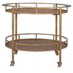 Looking for Creative Co-op Gold 2 Tier Metal Bar Cart Casters ? Check out our picks for the Creative Co-op Gold 2 Tier Metal Bar Cart Casters from the popular stores - all in one. Metal Bar Cart, Rolling Bar Cart, Gold Bar Cart, Home Living, My Living Room, Serving Cart On Wheels, The Cool Republic, Bar Cart Decor, Antique Farmhouse