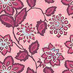 Free Spirit - Heirloom - Ornate Floral in Amethyst - 8.25