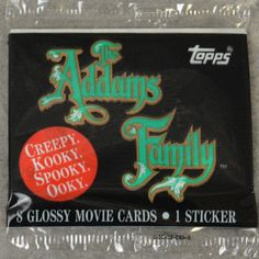 The Addams Family Vintage Trading Cards