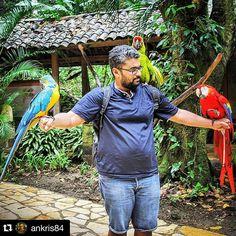 ¿Conocés de un país dónde las personas puedan tener tres guaras de colores distintos? !Claro, tu país... Honduras! Foto de @ankris84 ¡QUÉ BELLO ES MI PAÍS! #diarioelheraldo #honduras
