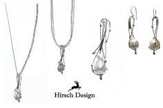 Perlen Kette von Hirsch-Design auf DaWanda.com