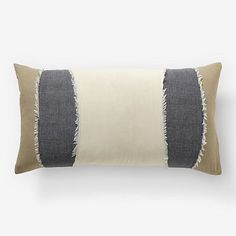 Lumbar pillow, decorative and can be useful for an additional bolster if needed