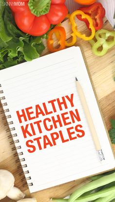 Here are some healthy kitchen staples!