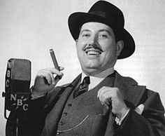 The Great Gildersleeve.  Gildy, played by Harold Peary, was originally a neighbor of Fibber McGee and Molly, but soon he became popular enough for his own show.  Gildy moved to Summerfield, where he assumed guardianship of his niece and nephew.  Hilarity ensued.