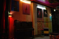 "This is my first exhibition.  (photos from ""Human"" bar)  by yiakou  2012"