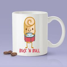 Rock 'N Roll - Funny - Coffee Mug [Great Gift For The Baker In Your Life]
