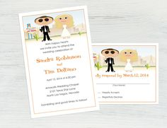 Las Vegas Wedding Invitation Set Featuring You by Texas Star, Las Vegas Weddings, Chapel Wedding, Happy Heart, Wedding Invitation Design, Wedding Themes, Celebrity Weddings, Big Day, Presents