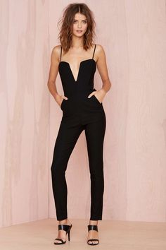 Nasty Gal Midnight Run Jumpsuit | Shop Rompers + Jumpsuits at Nasty Gal