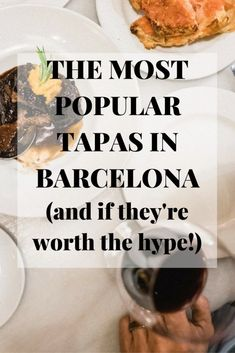 Find the best tapas in Barcelona with our guide to the most popular! Barcelona Sights, Barcelona Food, Barcelona City, Barcelona Travel, Europe Travel Guide, Spain Travel, Travel Guides, Travel Tips, Best Mediterranean Food
