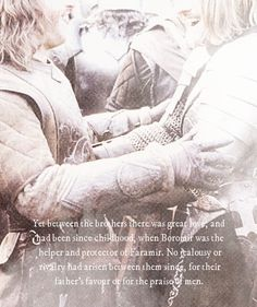 Boromir and Faramir - how could Denethor have hated the one that Boromir, his favorite son, loved?