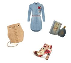 """""""Roses and denim"""" by sandris29 on Polyvore featuring WearAll, Liliana, INC International Concepts, Diesel, denim, feminine, roses and diesel"""