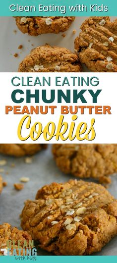 Clean Eating Diet Clean Eating Peanut Butter Biscuits (The Feel Good Biscuit) - Clean Eating with kids - I'm a little addicted to these clean eating peanut butter cookies! low on sugar, high on protein and fulling as an afternoon snack! Clean Eating Vegetarian, Easy Clean Eating Recipes, Clean Eating Desserts, Eating Healthy, Eating Clean, Clean Foods, Vegetarian Breakfast, Breakfast Healthy, Vegetarian Meals