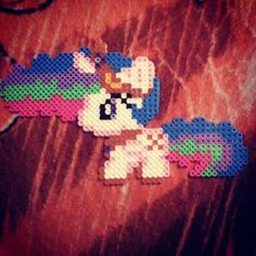 MLP Princess Celestia perler beads by xoxjokergirlxox