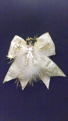 Angel Ornament Feather Angel Ornament Christmas by AngelsofHeaven, $6.00