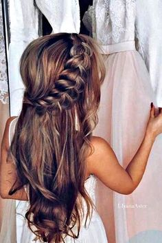 Modern Wedding Hairdos To Be In Trend ❤ See more: http://www.weddingforward.com/wedding-hairdos/ #weddings