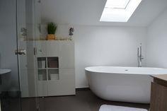 Freistehende Badewanne – Neubau Erding