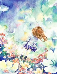 純潔と調和の花 by わか   CREATORS BANK http://creatorsbank.com/ximwmix/works/280707