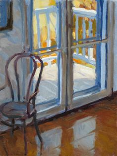 Hopper's Parlor, Nyack, oil