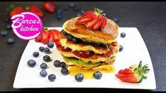 Protein Pancakes - Rezept von Eat Clean - Burcu´s Kitchen Clean Eating, Protein Pancakes, Cleaning, Breakfast, Fitness, Kitchen, Food, Food Portions, Food Food