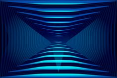 Abstract Angular Dark Blue Pattern. Geometric Structural Texture